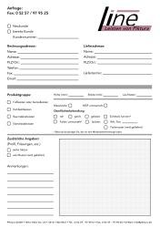Download Line Anfrageformular